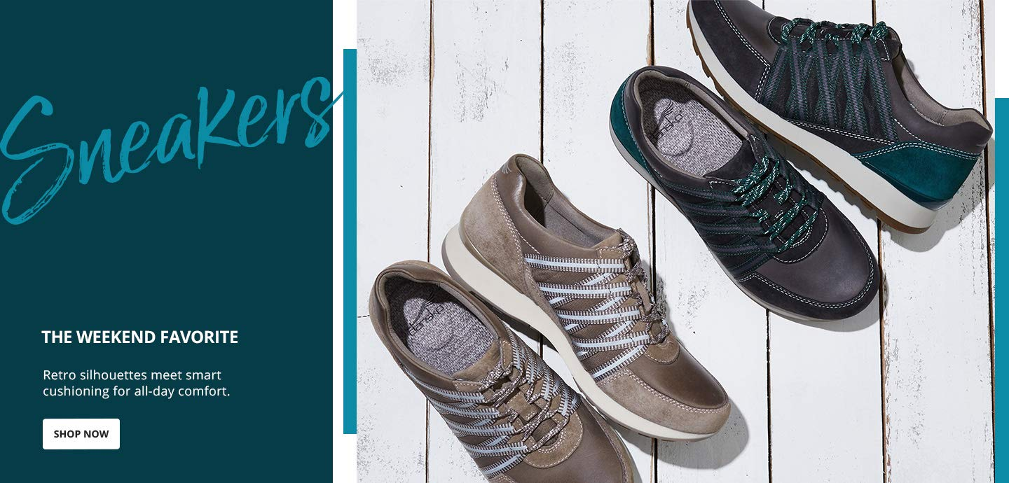 Sneakers. The weekend favorite. Retro silhouettes meet smart cushioning for all-day comfort. Shop Now.