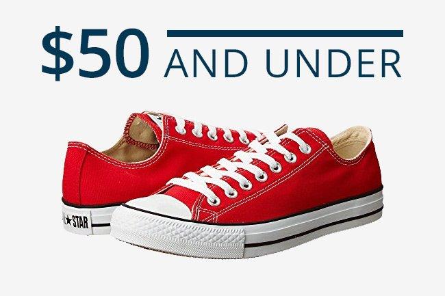 $50 & Under