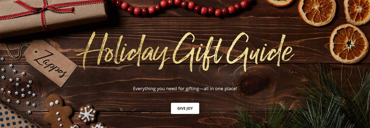 Holiday Gift Guide. Everything you need for gifting-all in one place! Give Joy.