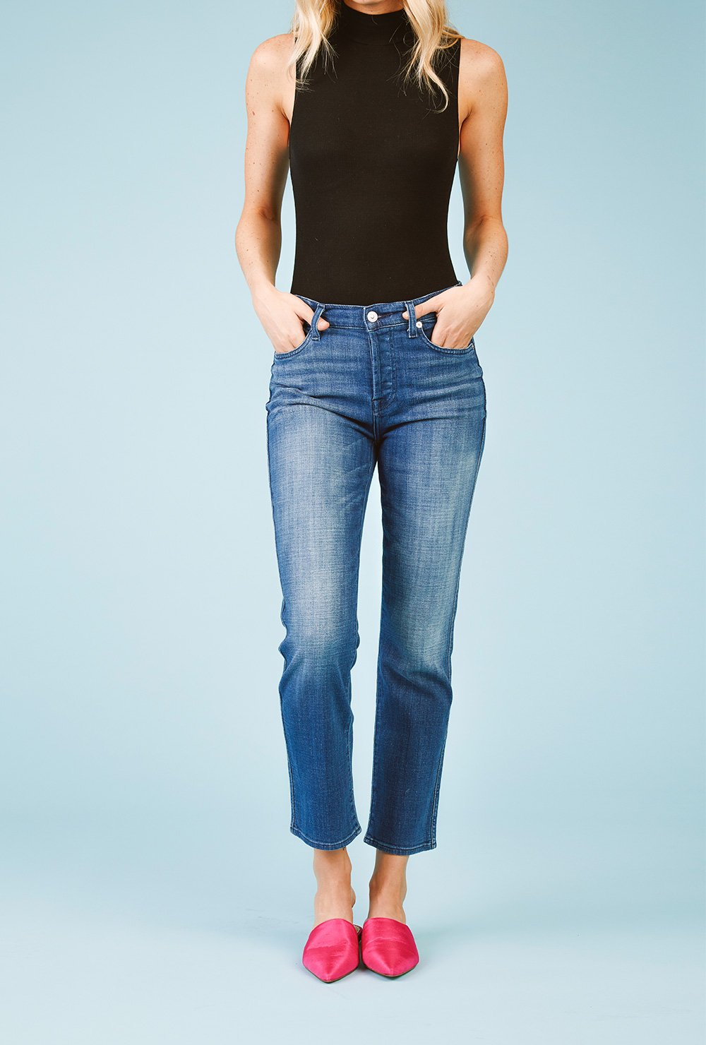 image links to assortment of new womens jeans