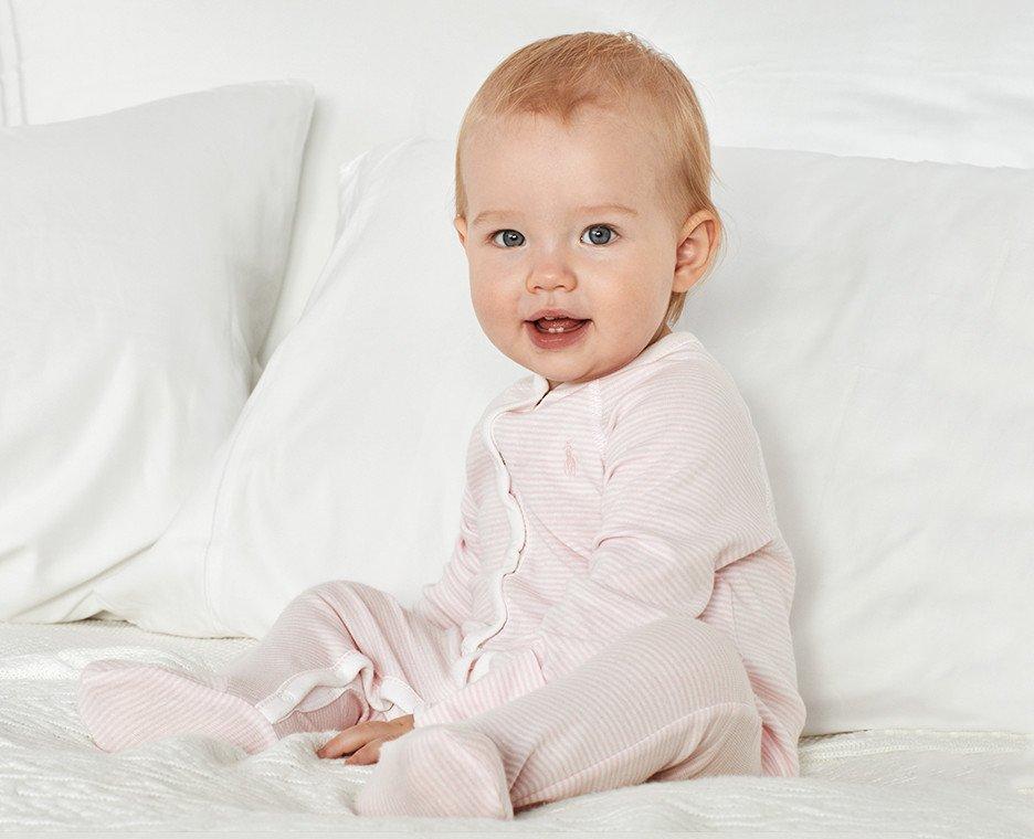 Image of baby wearing Ralph Lauren