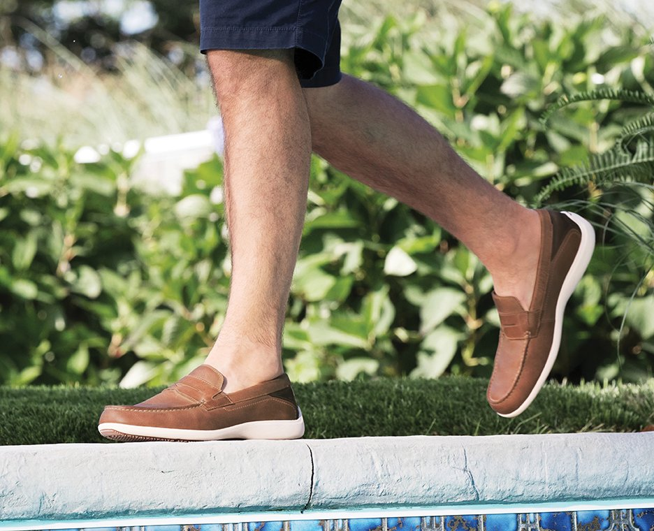 Image of Men's Rockport boat shoes