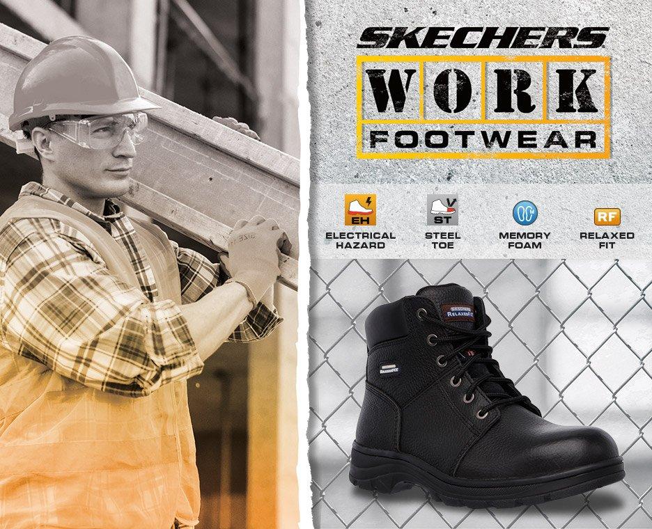 Skechers work shoes.
