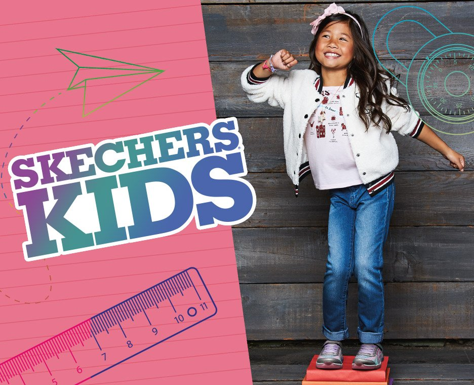 Skechers back to school for girls.