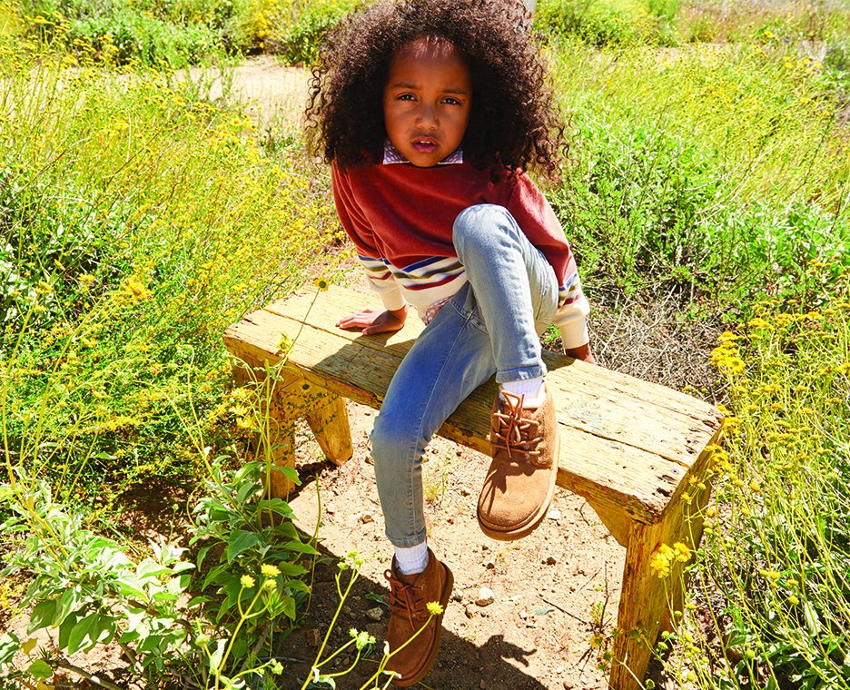 Image of girl wearing UGGS