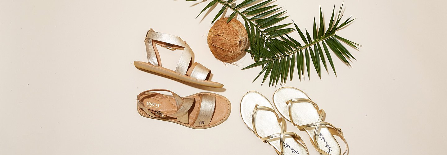 Image of women's best selling sandals.