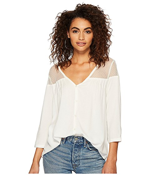 Image of women's spring top. Links to new arrivals for spring tops and blouses.