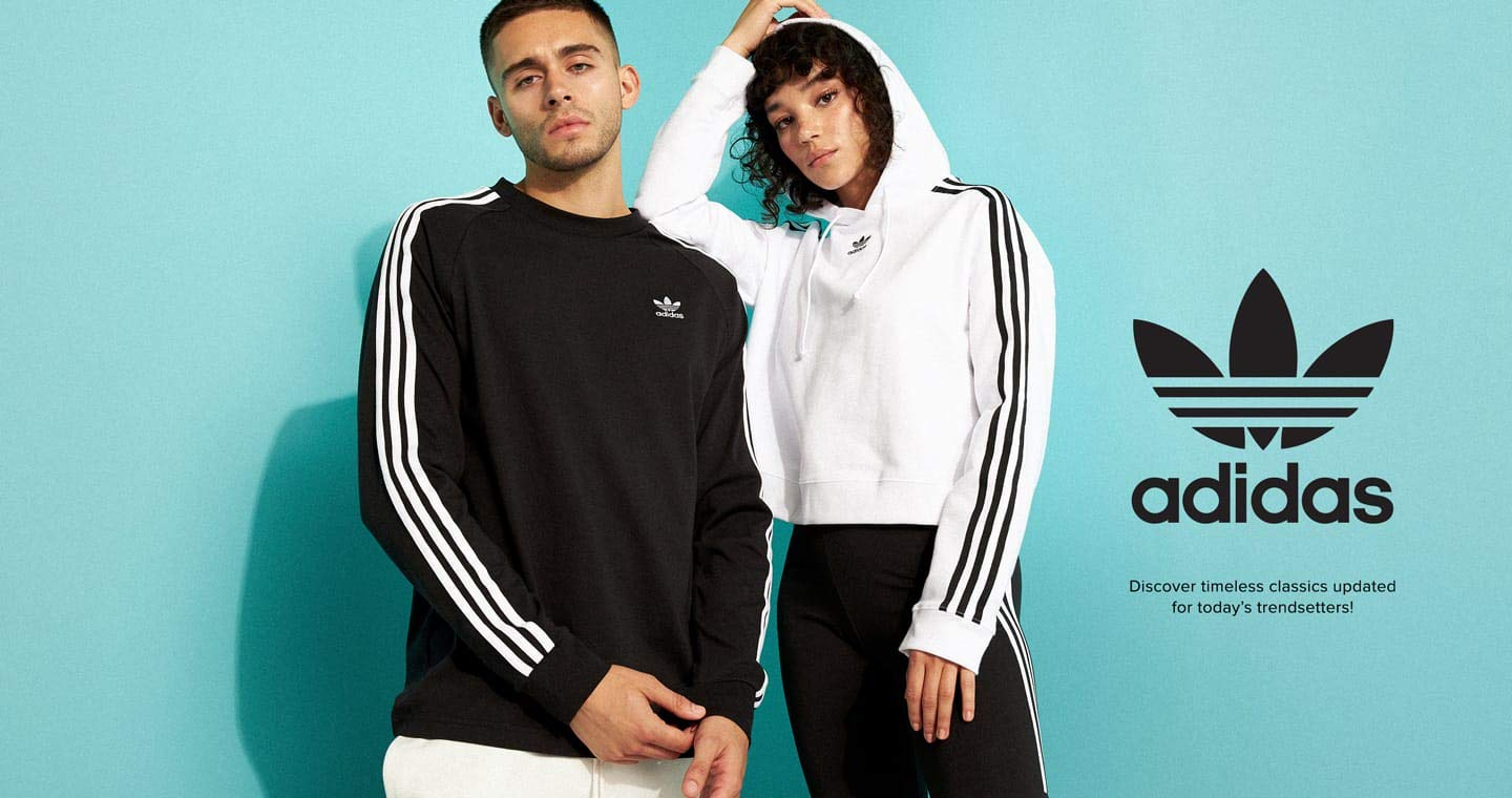 adidas. Discover timeless classics updated for today's trendsetters!