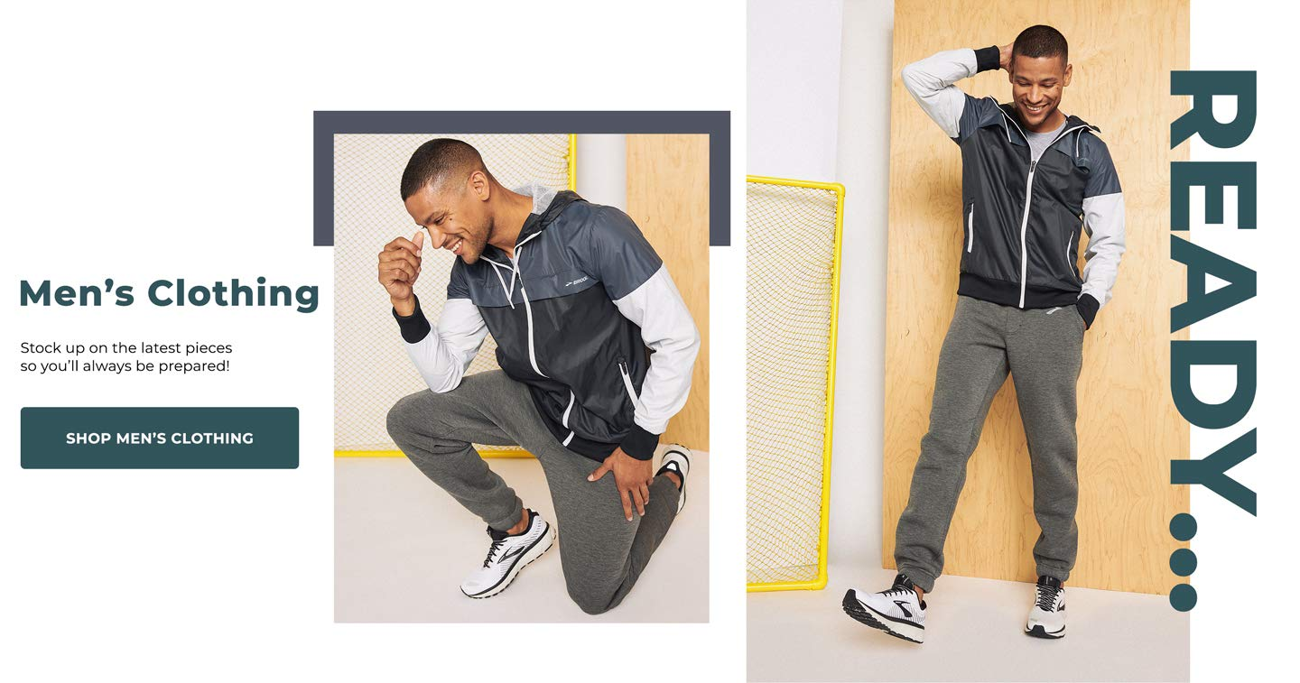 READY…Men's Clothing. Stock up on the latest pieces so you'll always be prepared!  Shop Men's Clothing.