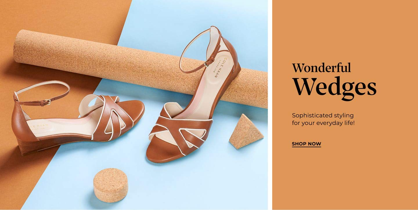 Wonderful wedges. Sophisticated styling for everyday life! Shop now.