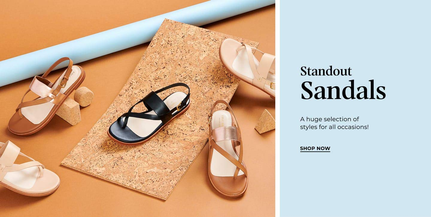 Standout Sandals. A huge selection of styles for all occasions! Shop Now.