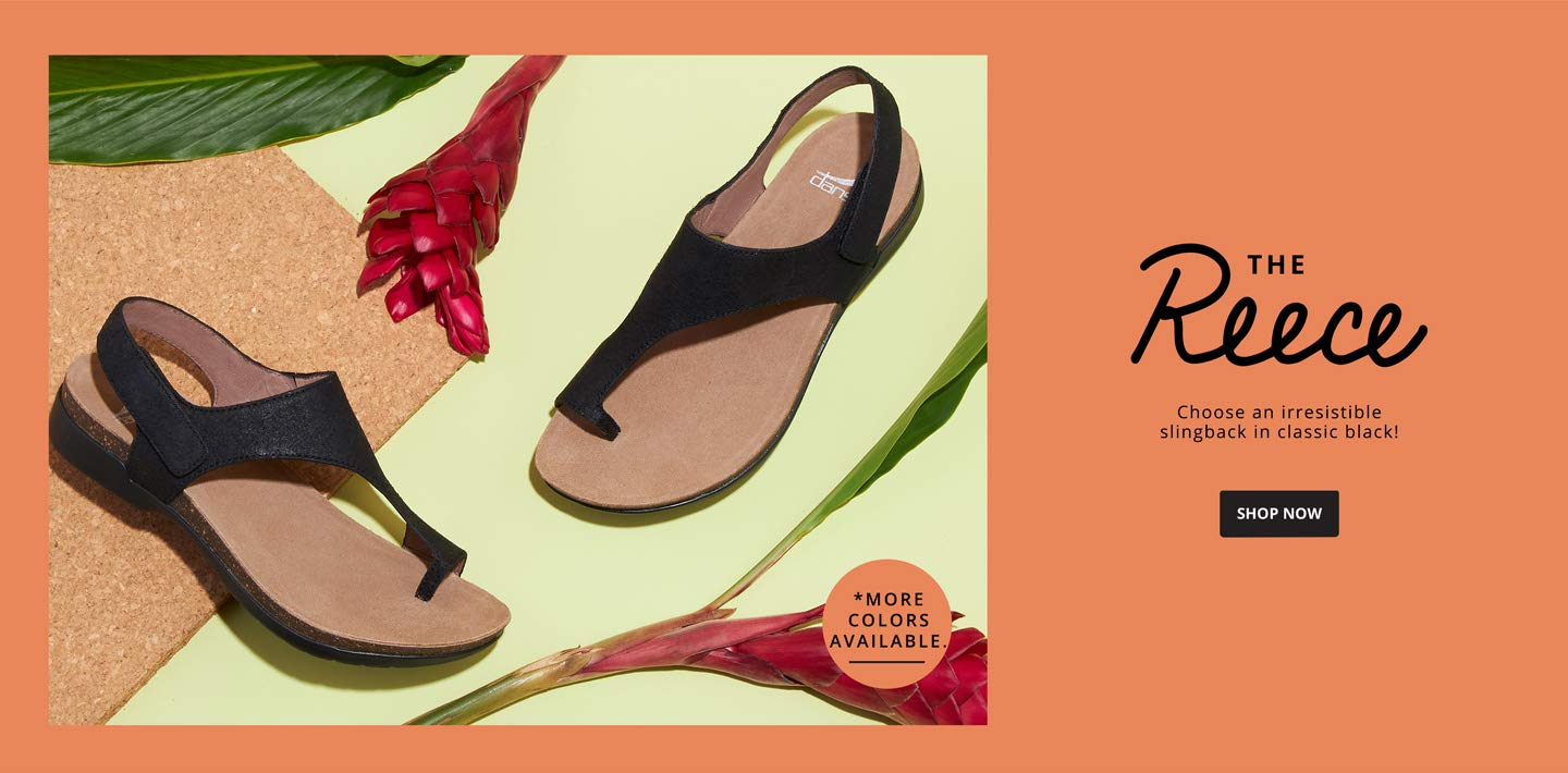 THE REECE. Choose an irresistible slingback in classic black! Shop Now.