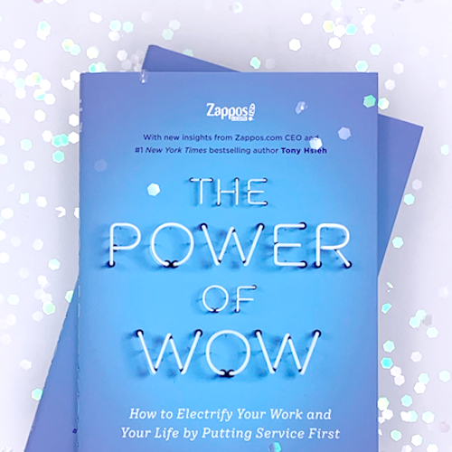 The Power of WOW Book. Buy Power of Wow on Amazon.