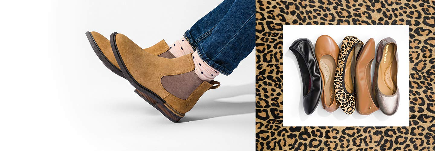 Image link to shop the Hush Puppies Collection