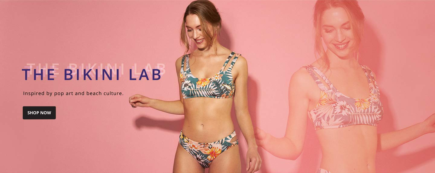 The Bikini Lab. Inspired by pop art and beach culture. Shop Now.
