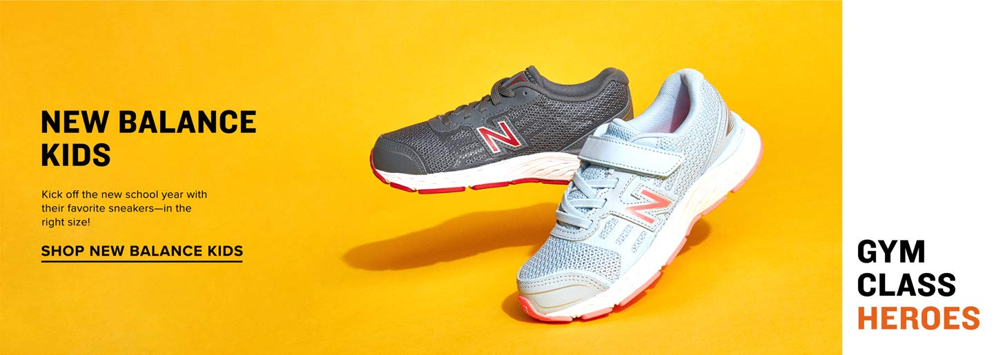 Kick off the new school year with their favorite sneakers—in their right size! Shop New Balance Kids.