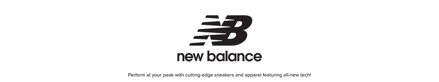 New Balance. Perform at your peak with cutting-edge sneakers and apparel featuring all-new tech!
