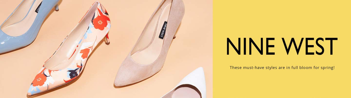 Nine West. These must-have styles are in full bloom for spring!
