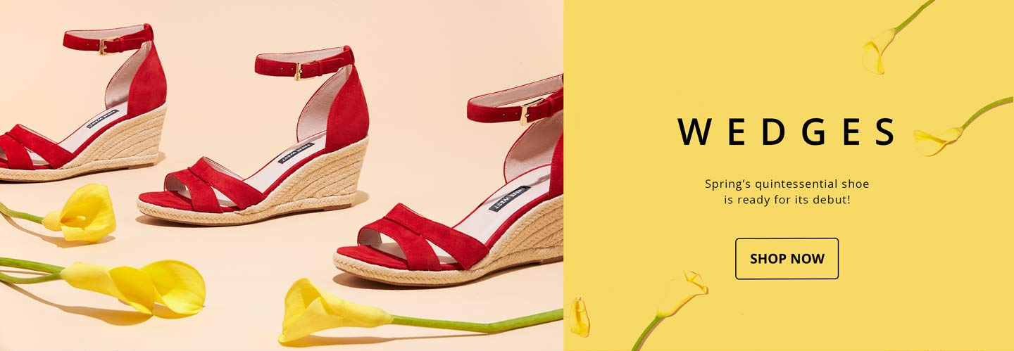 Wedges. Spring's quintessential shoe is ready for its debut! SHOP NOW