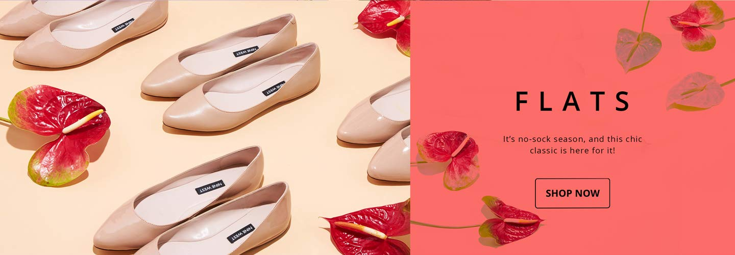 Flats. It's no-sock season, and this chic classic is here for it! SHOP NOW