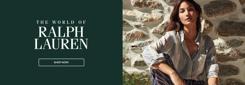 The World of Ralph Lauren. Shop Now