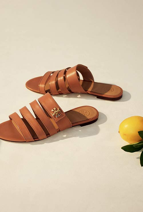 b1c83220dff Shoes New Arrivals Shop Now. Kira Multi Band Sandal. Tory Burch