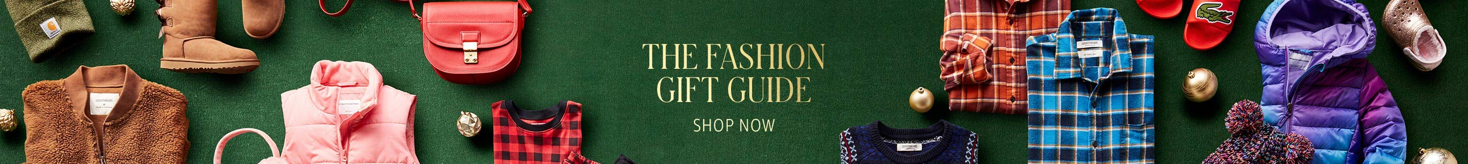 Amazon Fashion Gift Guide, Go back