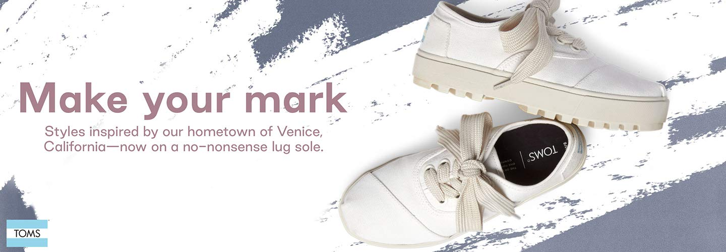 Make Your Mark styles inspired by our hometown of Venice, California now on a no no nonsense lug sole.