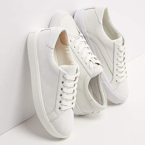 Trend Watch: White Leather Sneakers
