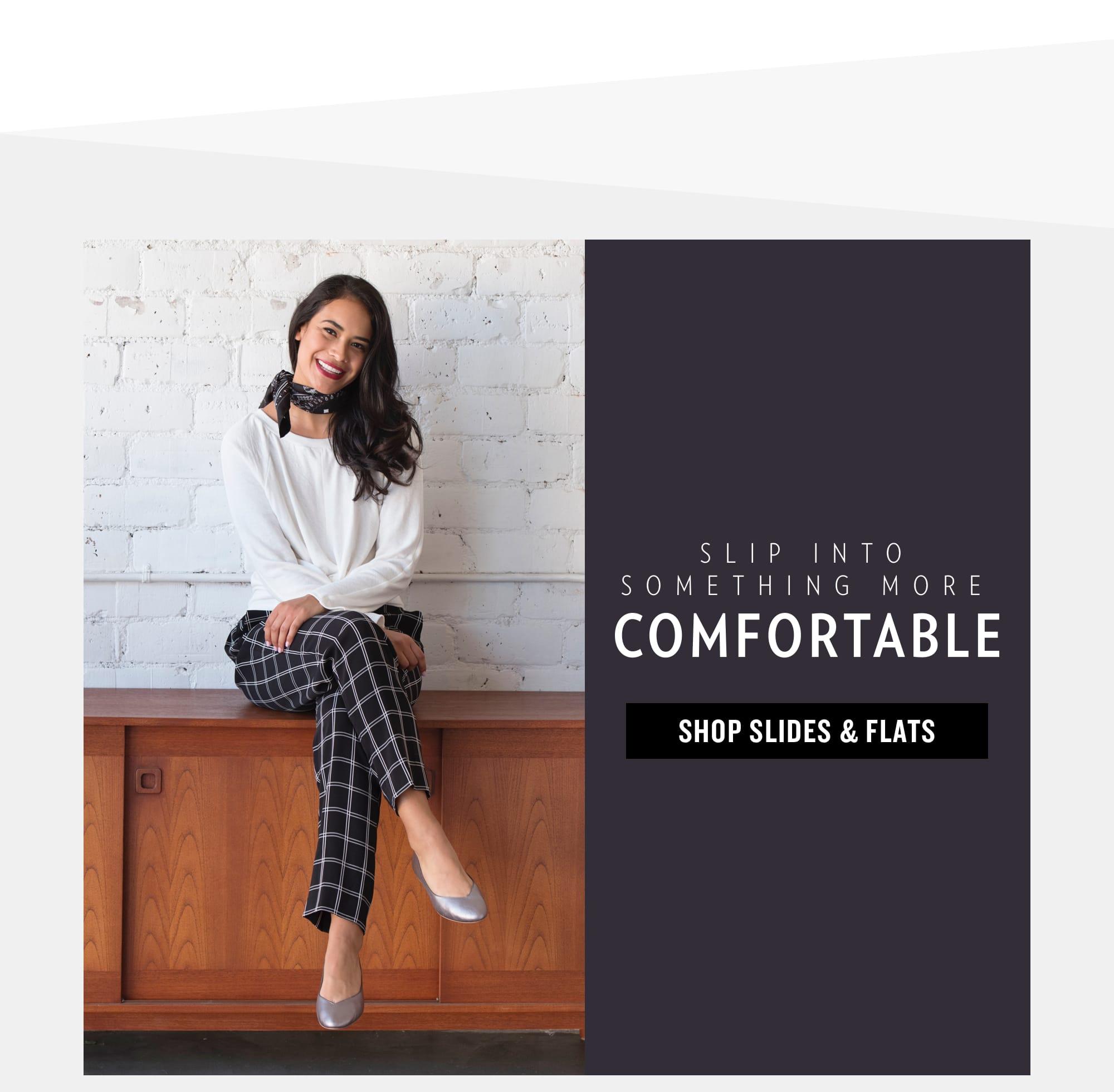 Comfort Slides And Flats