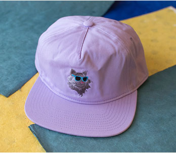 Purple Baseball Hat