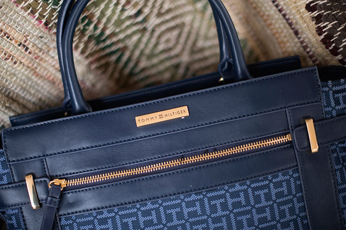Blue Tommy Hilfiger Handbag