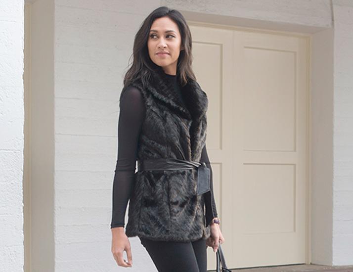Sleek Black Fashionista Favorites Outfit