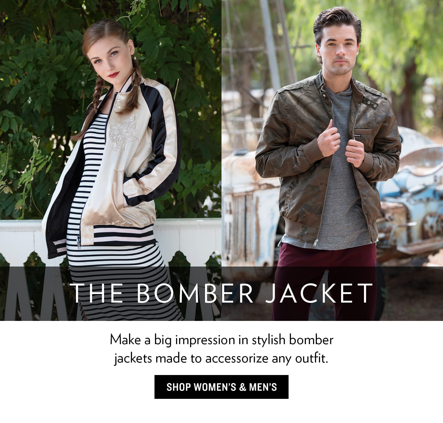 Bomber Jackets for Men And Women