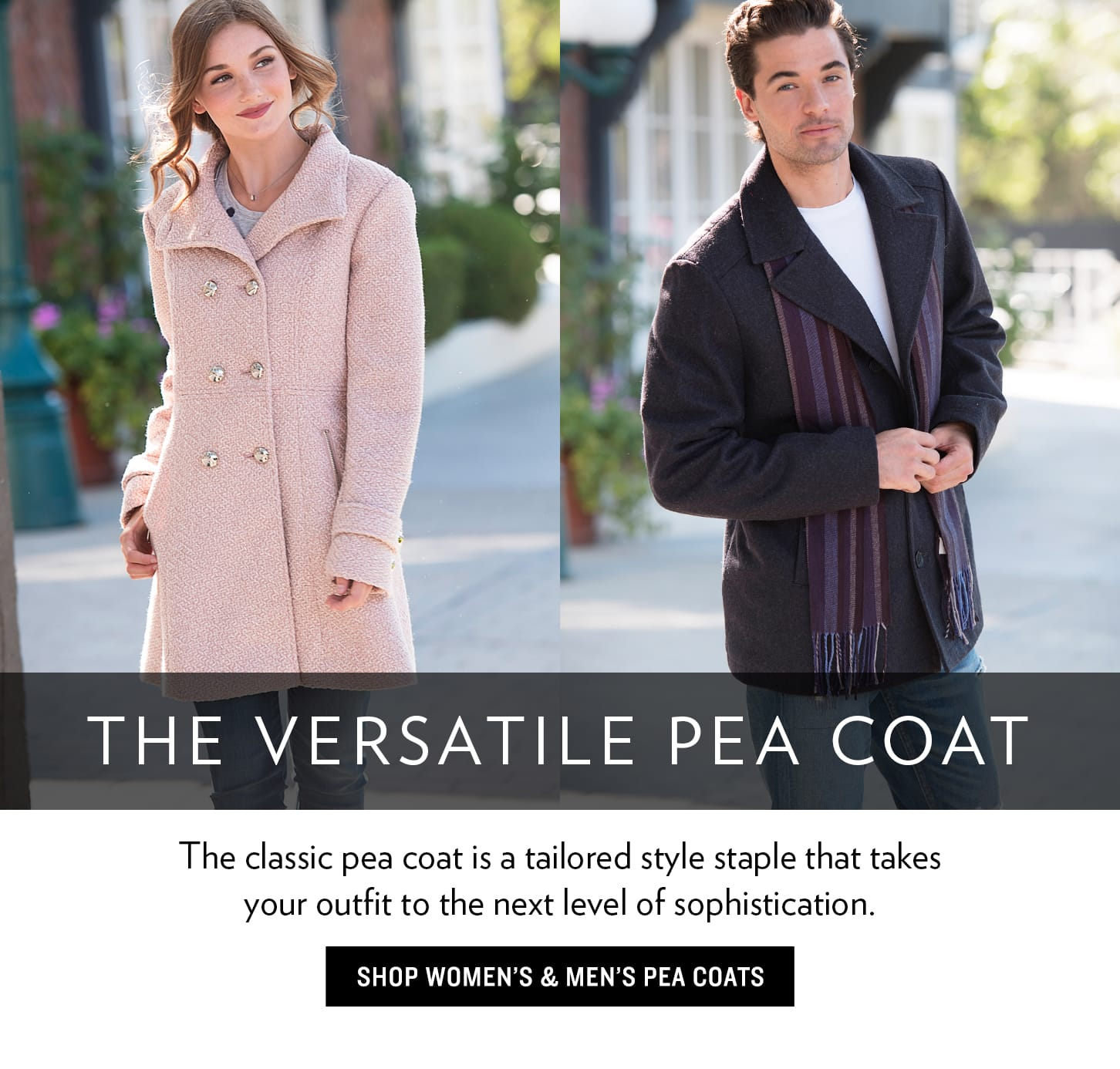 Pea Coats for Men And Women