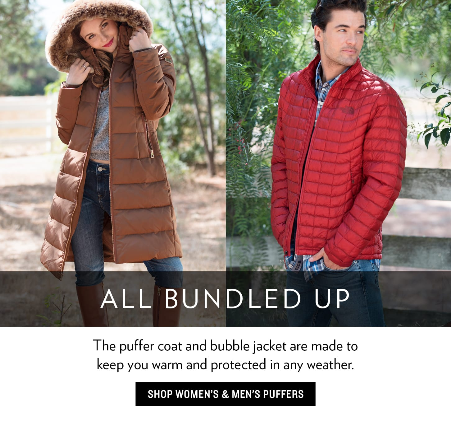 Puffer And Bubble Jackets And Coats For Men And Women