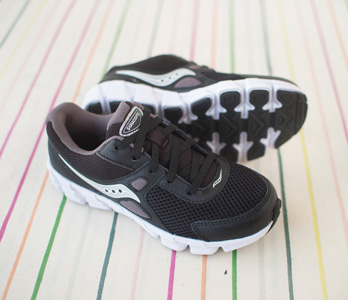 Boys' Saucony Black Sneakers