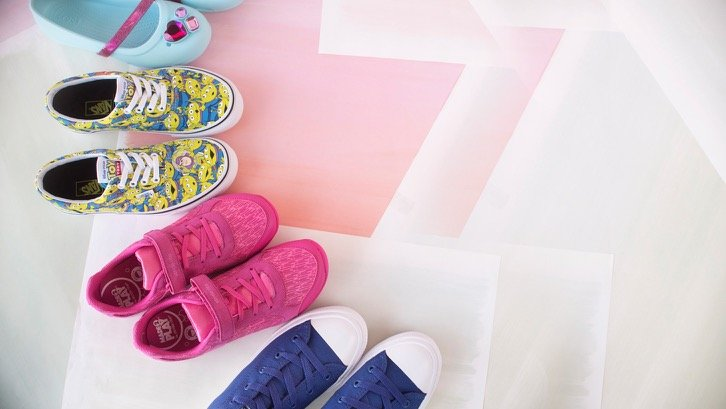 Kids Shoes from Vans, Converse And Crocs