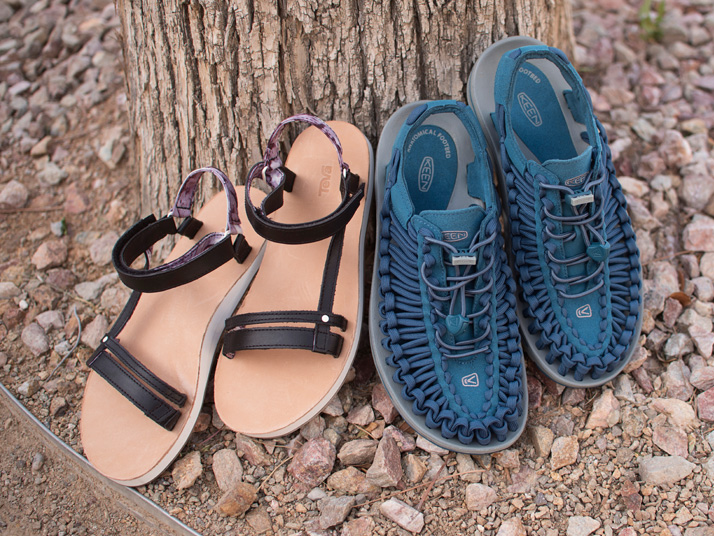 Women's Walking Sandals And Men's Hiking Sandals