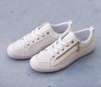 Embellished Blush Fashion Sneakers