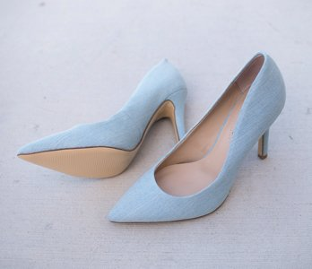 Light Blue Pumps