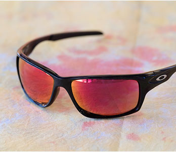 Oakley Black Wrap Frames
