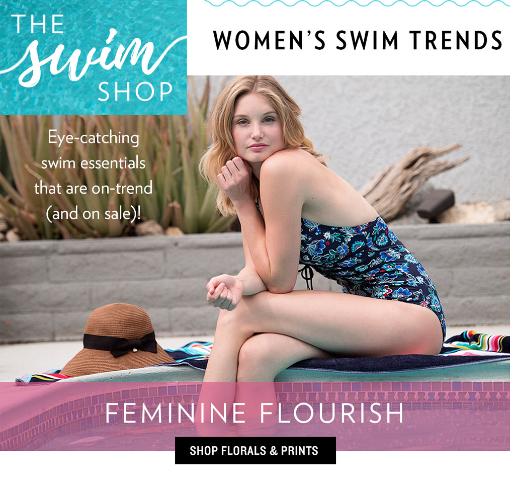 Women's Swim Trends - Feminine Flourish