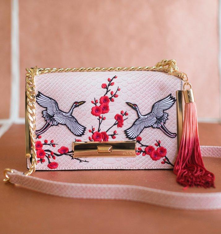Pink Aldo Handbag
