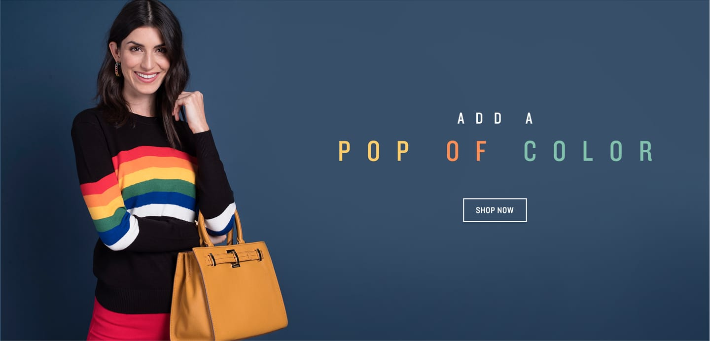 Pops of Color Accessories