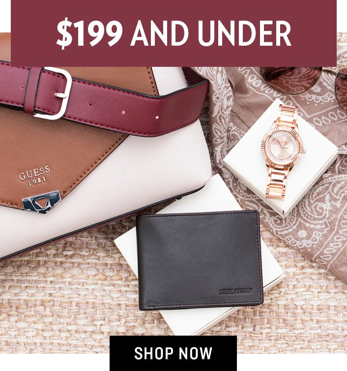 Shop Accessories $199 and Under
