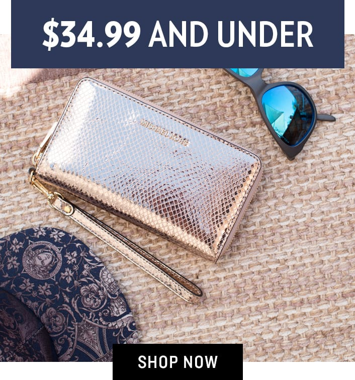Shop Accessories $34.99 and Under