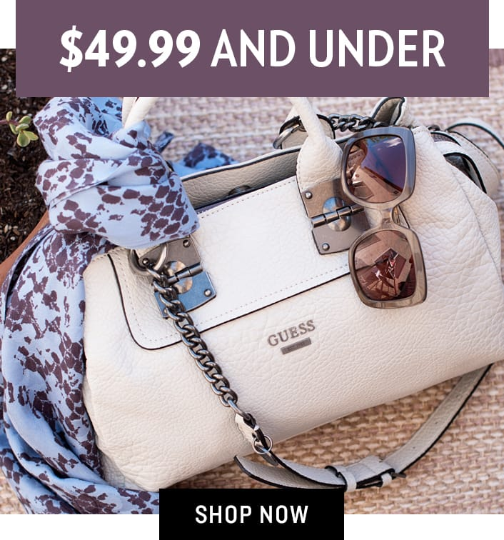 Shop Accessories $49.99 and Under