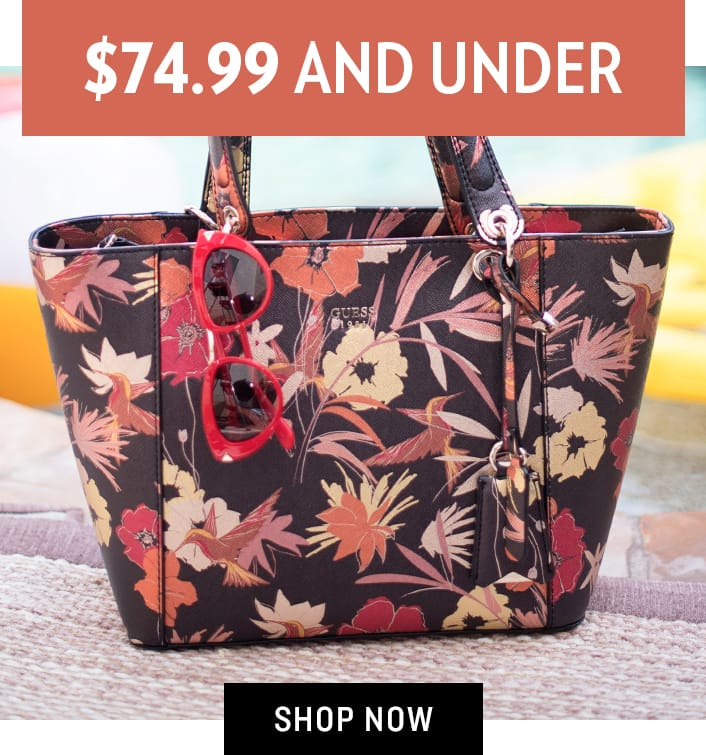 Shop Accessories $74.99 and Under