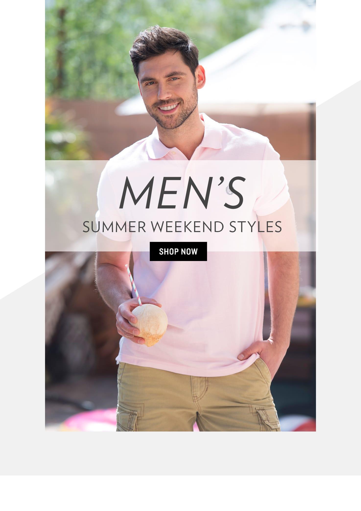 Shop Men's Summer Weekend